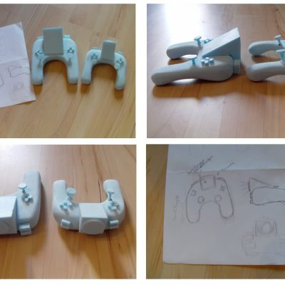 Make a 3d foam object from a 2d sketch.