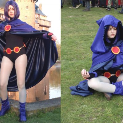 Raven from the Teen Titans costume