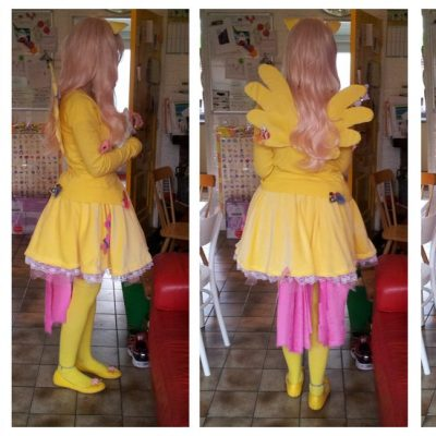 A my little pony costume of the character Fluttershy