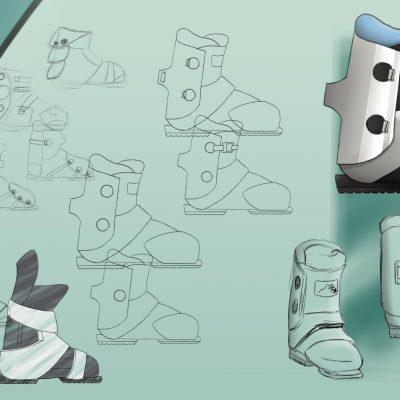 Design process: Ski boots