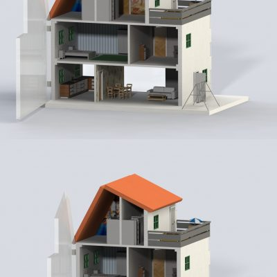 The scalability of the house