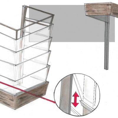 Sketch of the final design